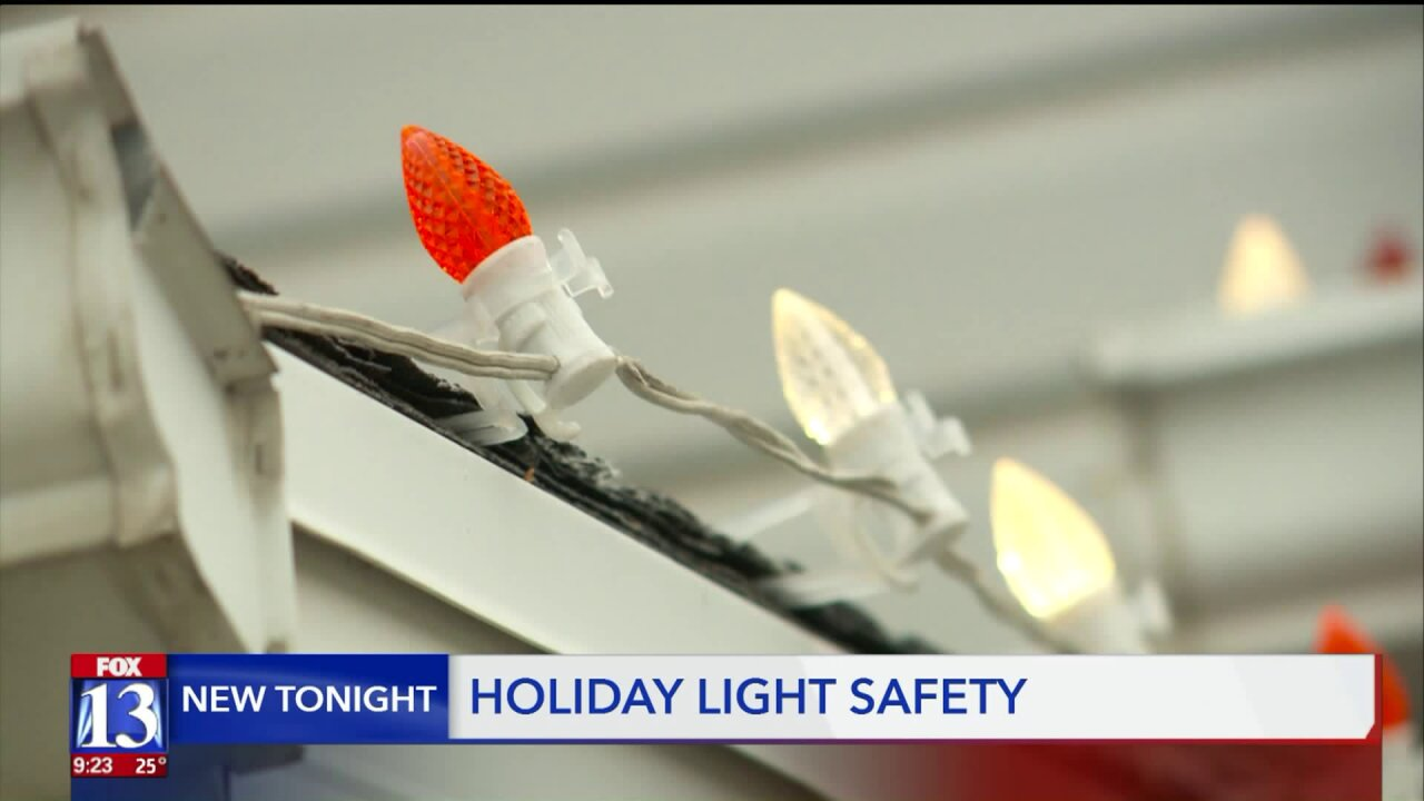 'I thought I was invincible;' Utah man breaks back, suffers concussion in Christmas light accident