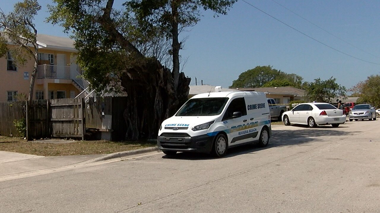 A 7-year-old boy was killed and his mother was injured in a double shooting in Riviera Beach.