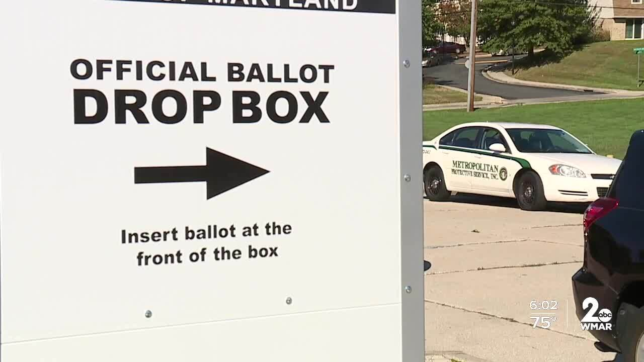 Security guard shot while watching over election ballot box in NE Baltimore.jpg