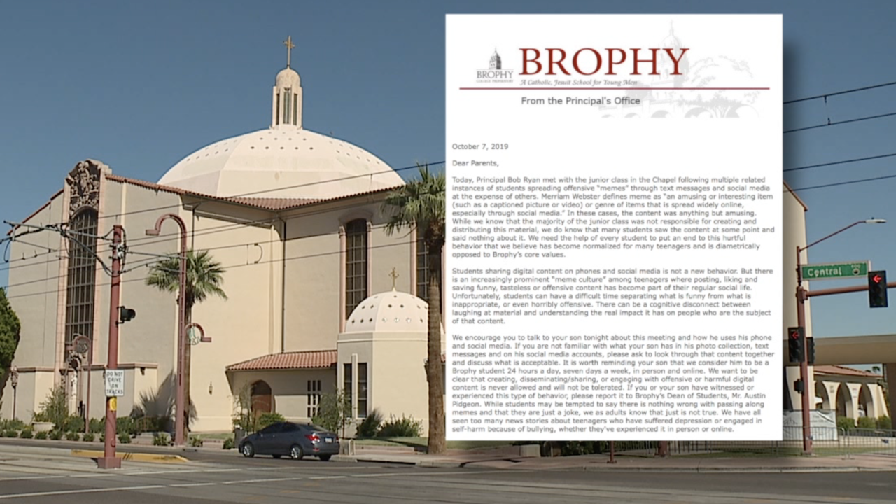 Brophy takes stand on offensive memes