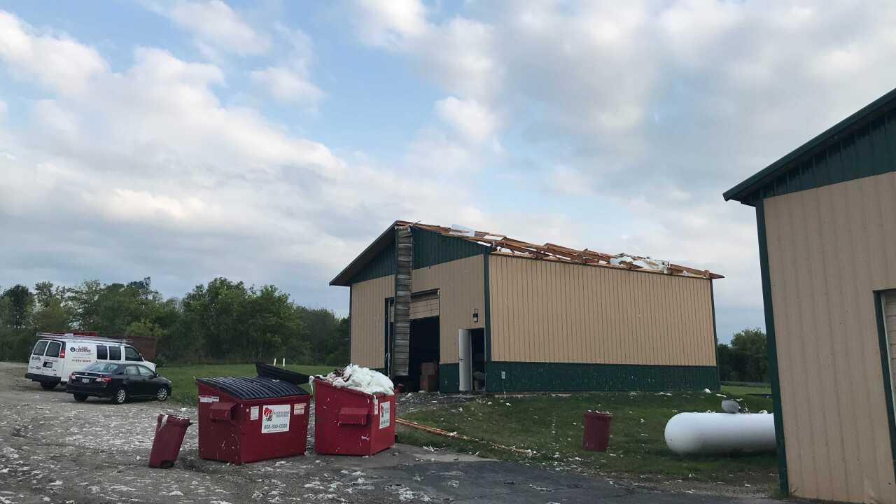 storm tears through Jefferson County