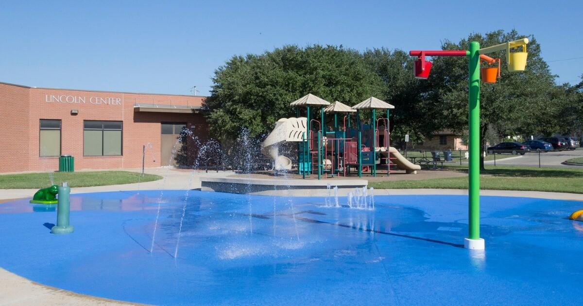 W.A. Tarrow Splash Pad (City of College Station)