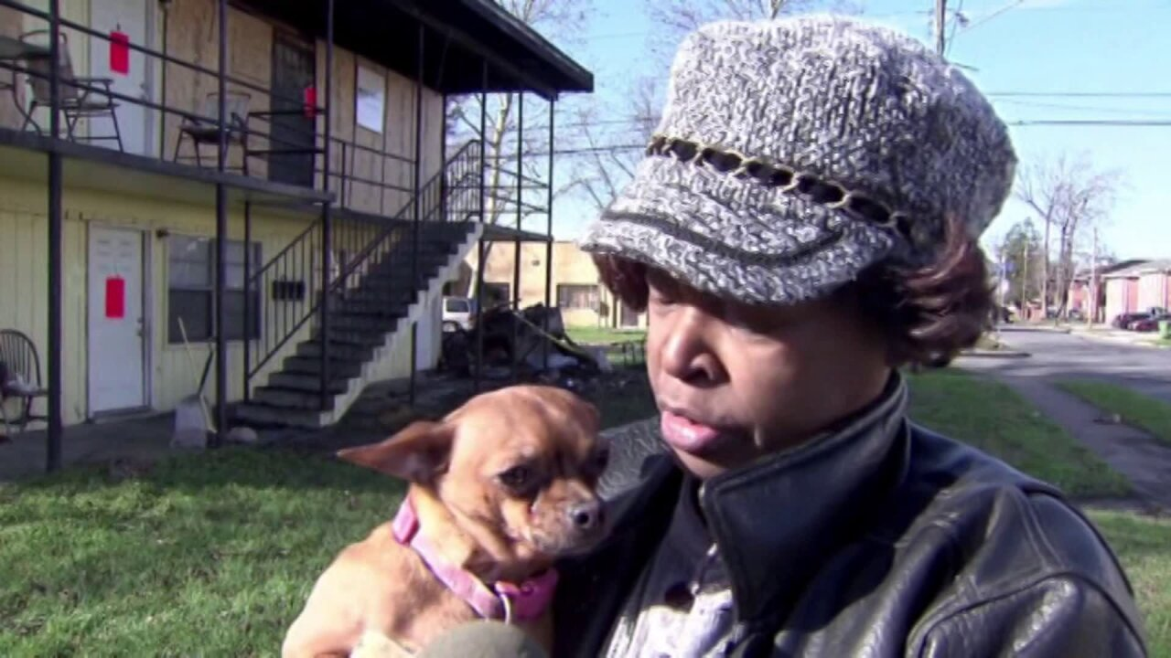 'Thank you God for finding my dog' says Norfolk apartment fire victim