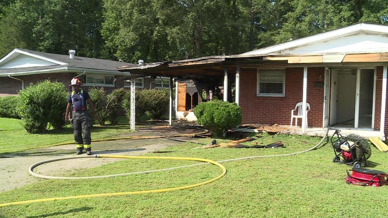 House fire damage estimated at $20,000-plus inPetersburg
