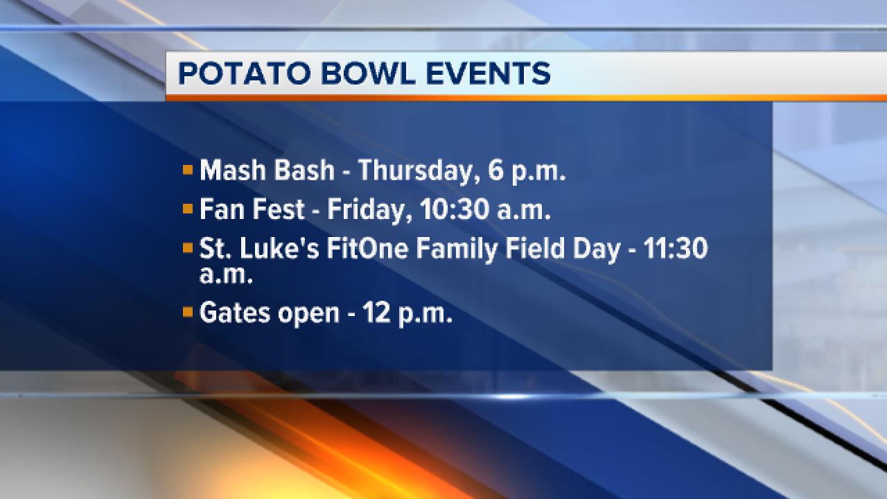 Famous Idaho Potato Bowl this Friday