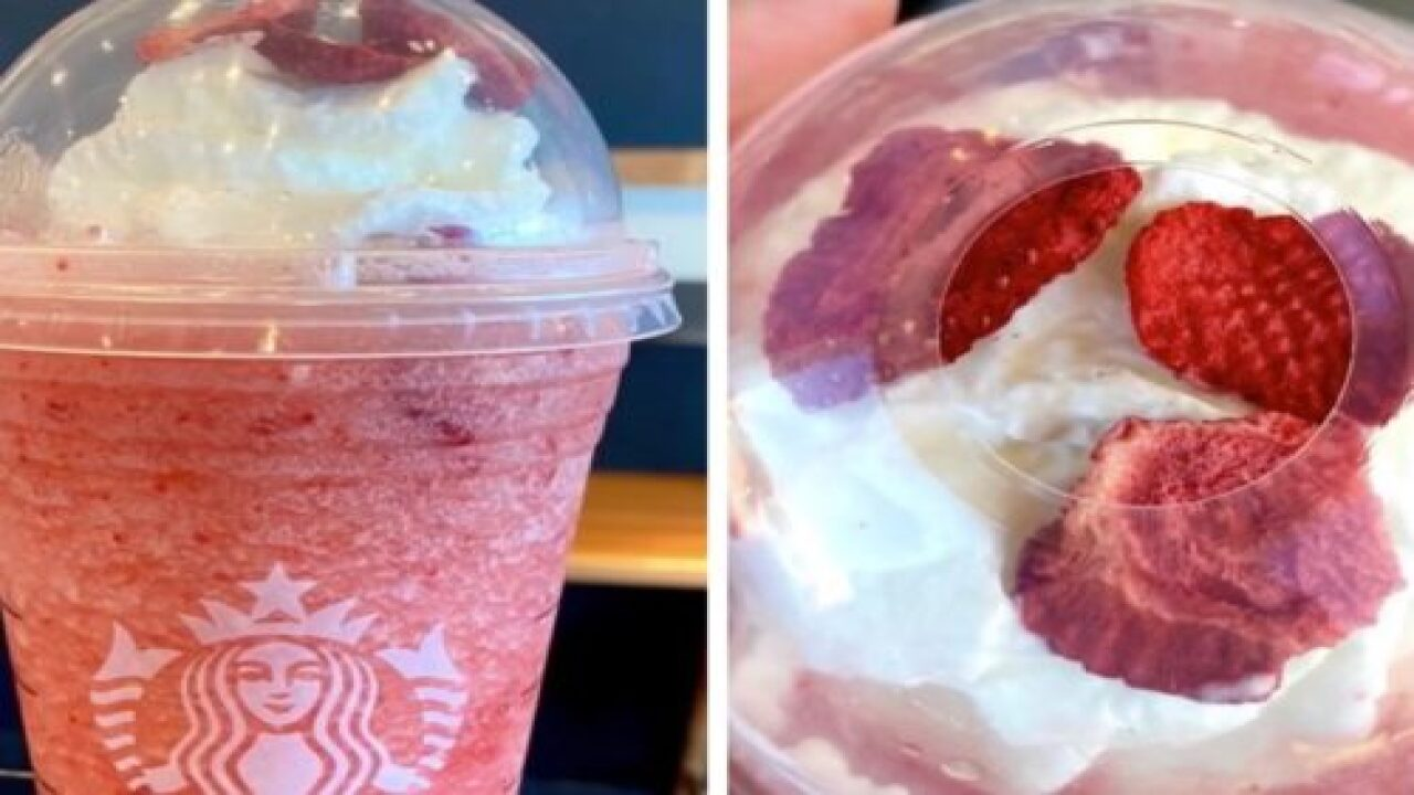 How To Order A Strawberry Daiquiri Frappuccino From Starbucks' Secret Menu