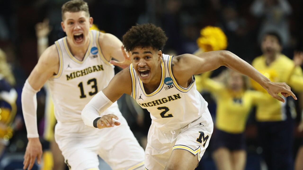 size 40 a0b42 29518 March Madness 2018: Michigan to face No. 7 Texas A&M in Sweet 16