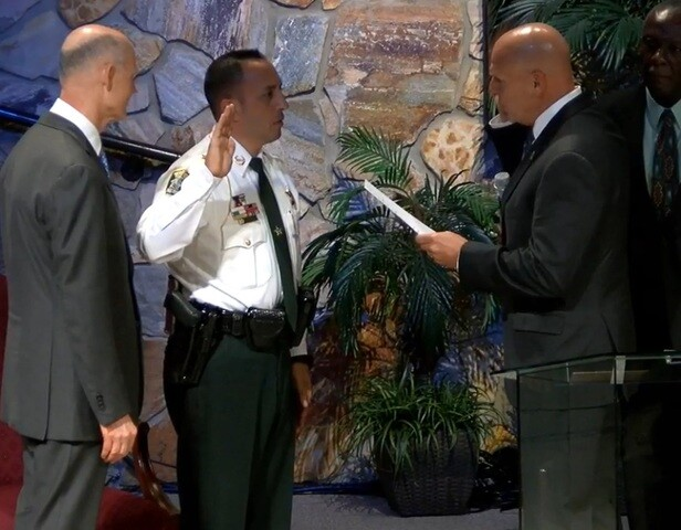 Marceno sworn in as new Lee County Sheriff