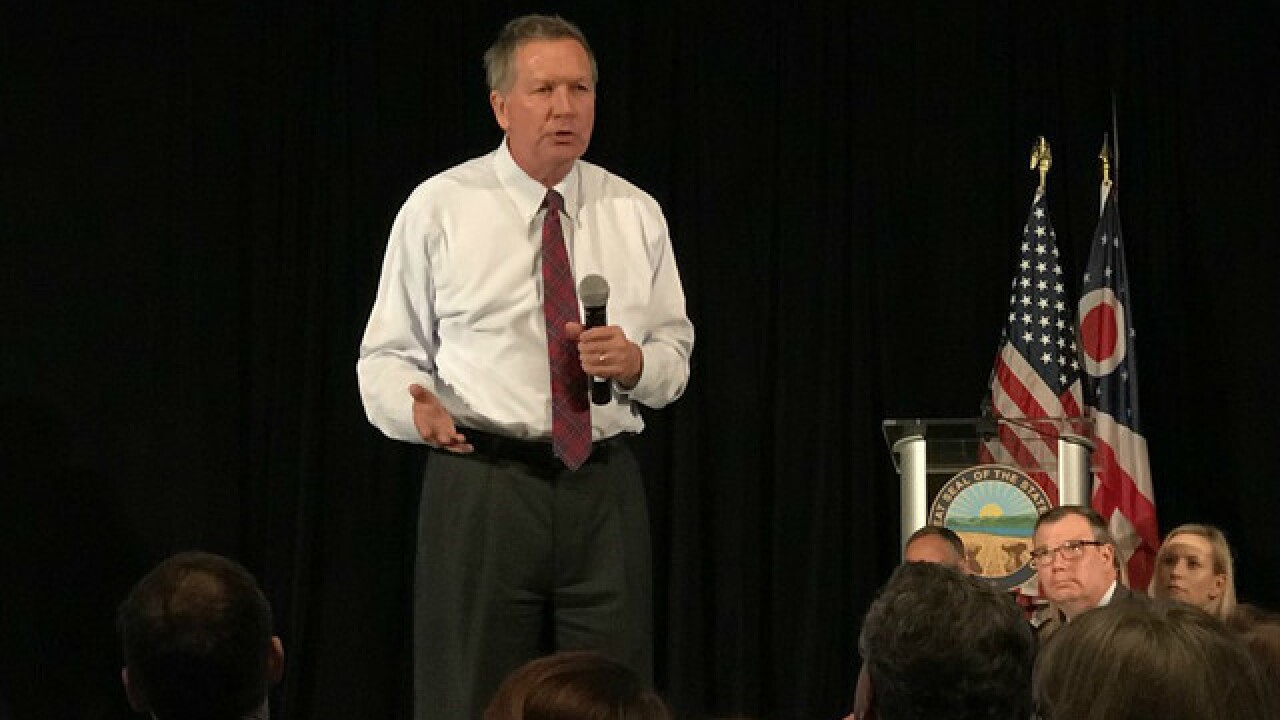 Kasich: Community, not government, is best way to solve state's problems