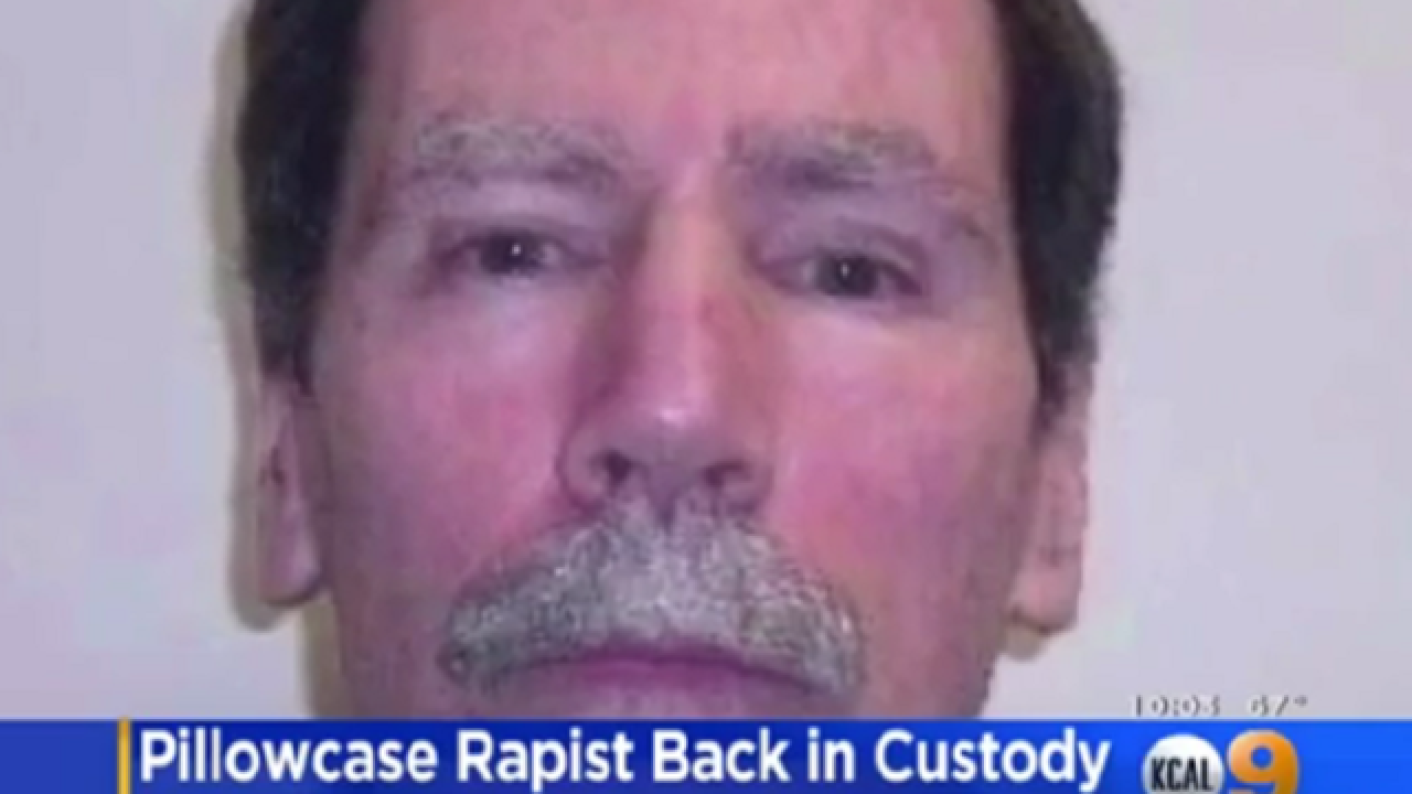Notorious 'pillowcase rapist' back in state mental hospital