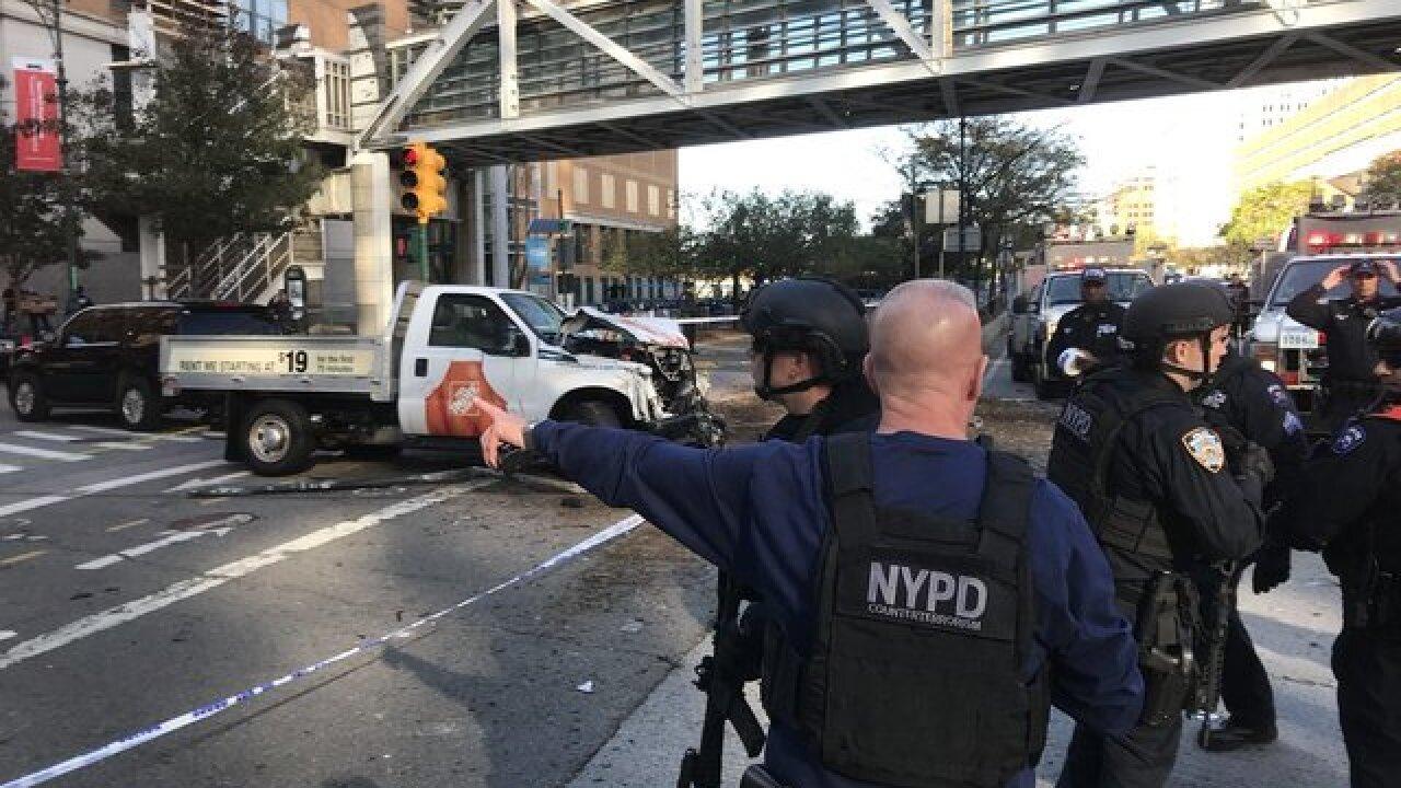 Shots fired near World Trade Center