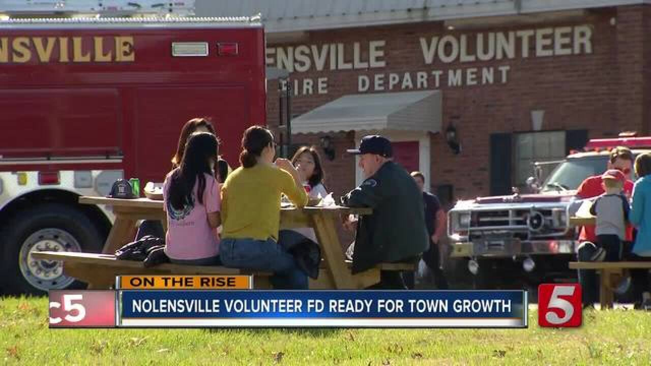 Volunteer FD prepared to handle town's growth