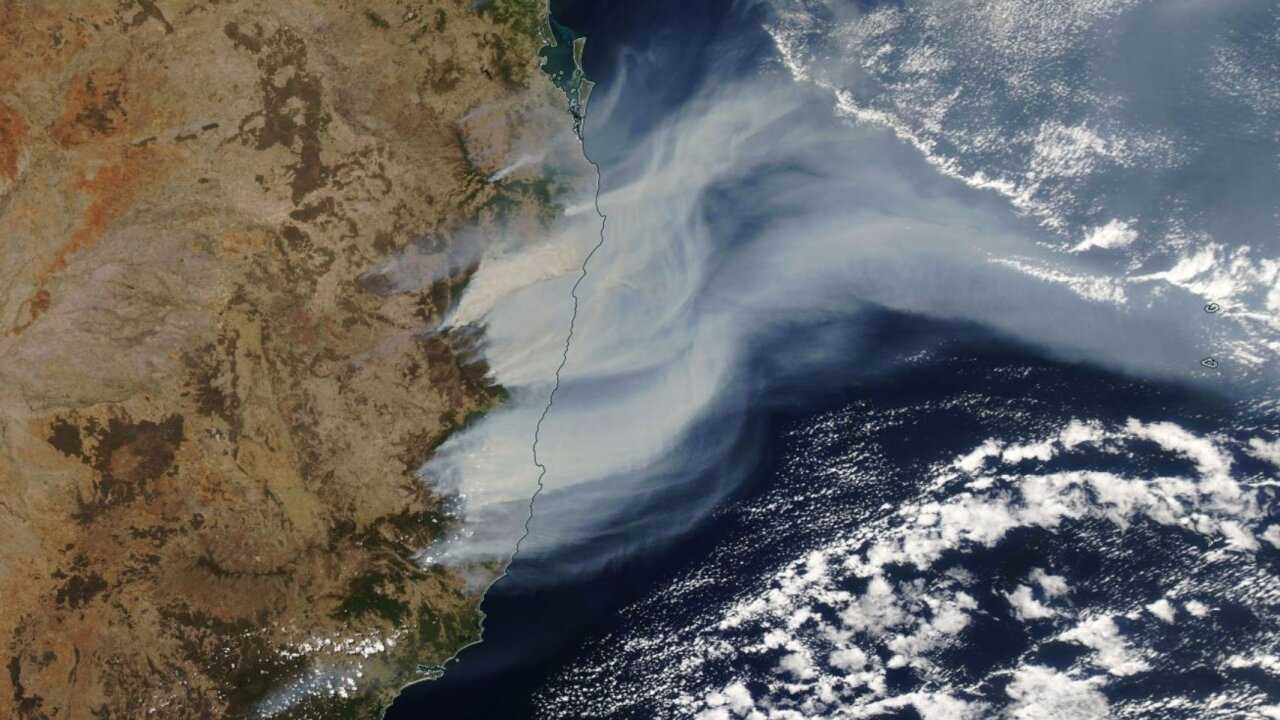 More than 60 bushfires are burning in the state of New South Wales in Australia