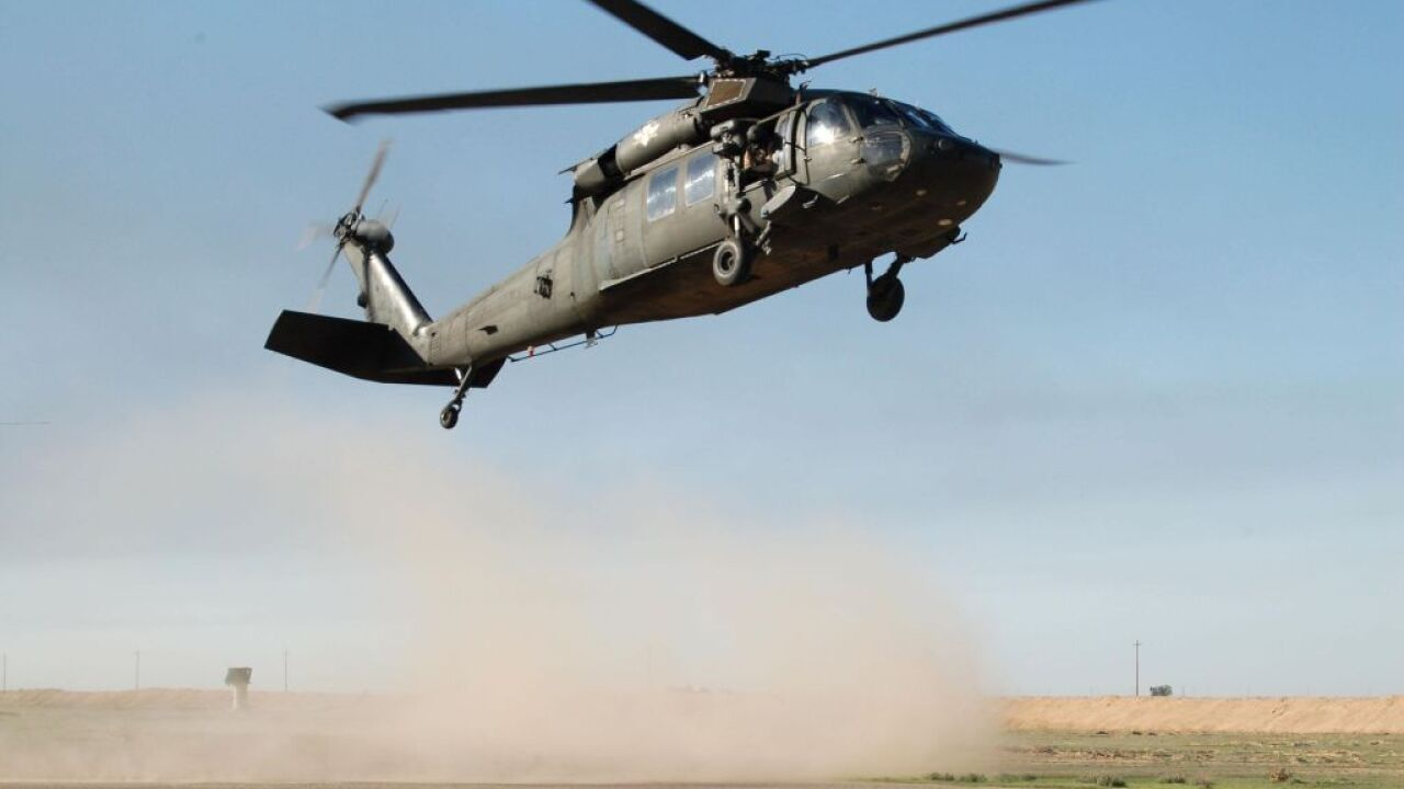 National Guard UH-60 Blackhawk helicopter goes down in Minnesota