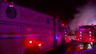 Fire trucks Papillion first responders Omaha metro