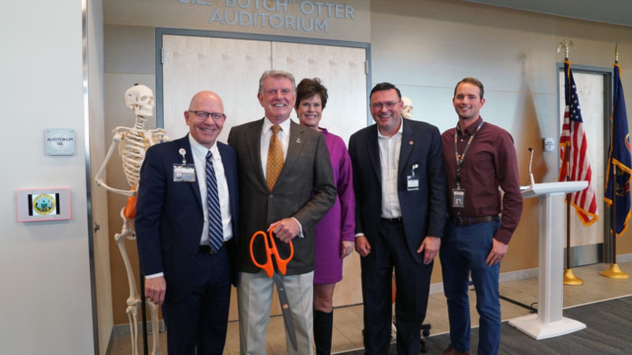 Idaho's first medical school to honor Gov. Otter