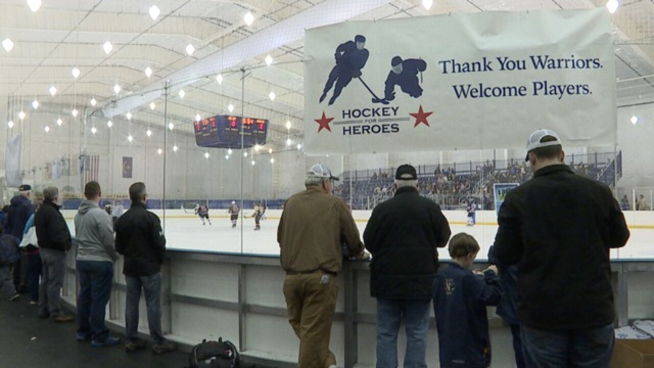 Hockey for Heroes 24-hour tournament at Navy