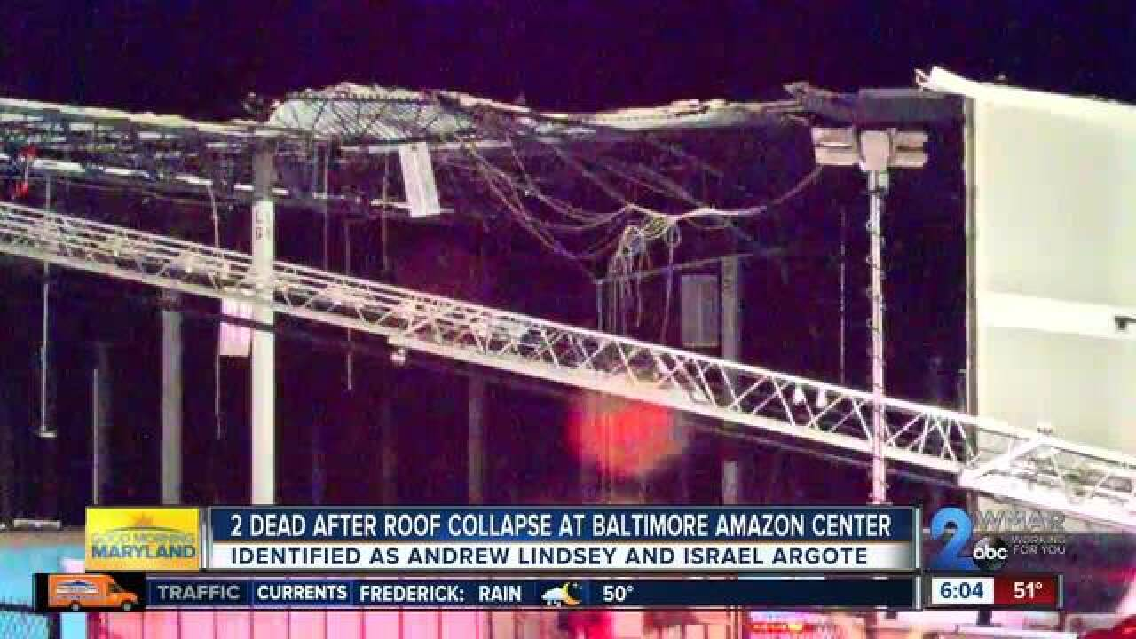 1 dead after building collapse at Amazon