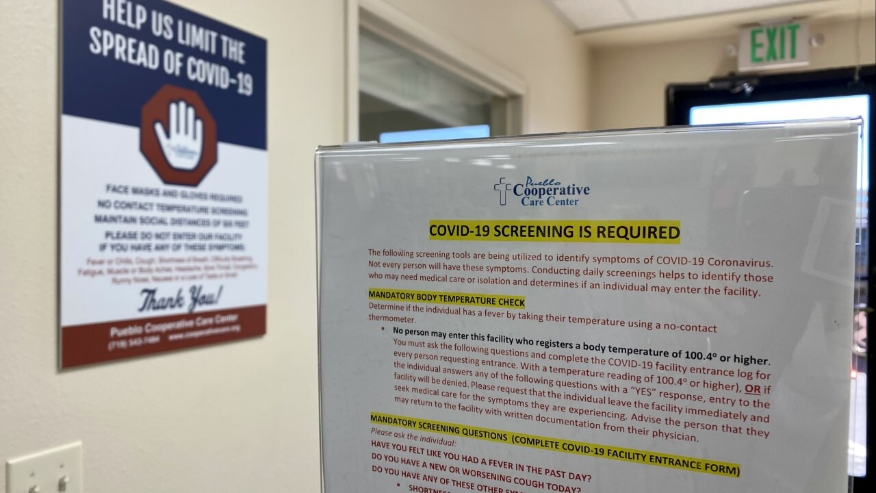 Pueblo Cooperative Care is reinstating many of the COVID-19 regulations they had in place in 2020