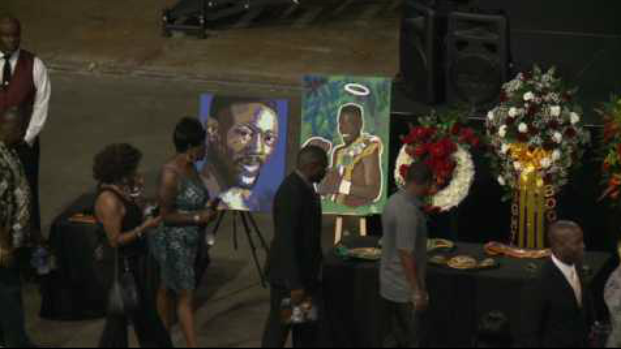"Funeral for Hampton Roads boxing legend Pernell ""Sweet Pea"" Whitaker held at the Scope"