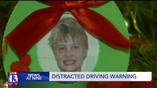 Utah family, remembering son who was killed in a crash, asks motorists to not drive distracted
