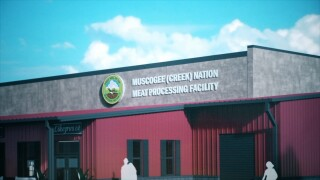 Muscogee Nation meat processing plant