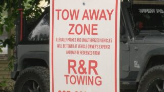 Festival visitors face parking issues