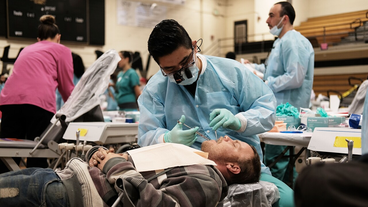 Remote Area Medical Treats Patients In Underserved Communities In Florida dentist braces