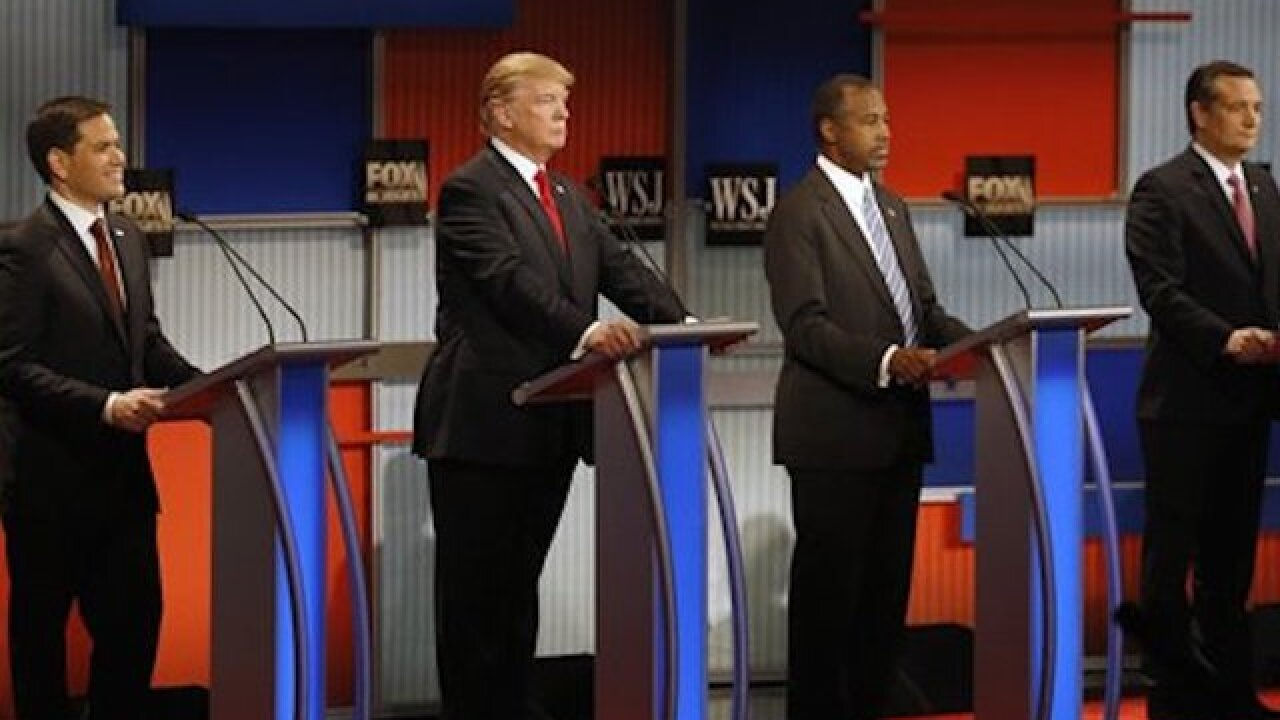 Viewers' Guide: Spotlight on Trump, Cruz at GOP debate