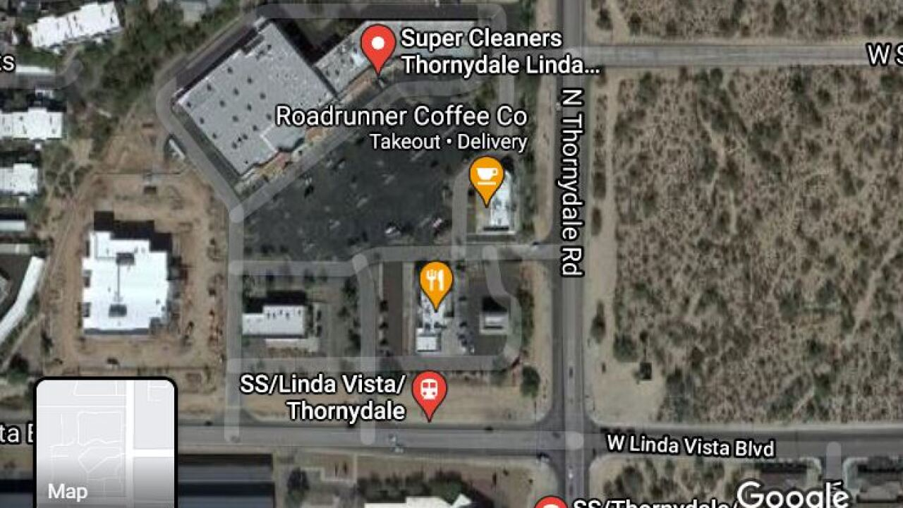 A wreck involving a pedestrian shut down the Thornydale and Linda Vista intersection Tuesday.