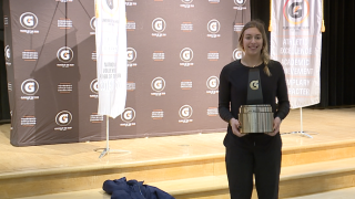 Mercy's Jess Mruzik named Gatorade national volleyball player of the year