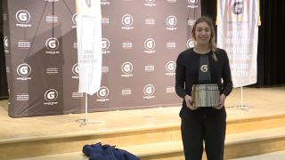 Mercy's Jess Mruzik named Gatorade national volleyball player of the year