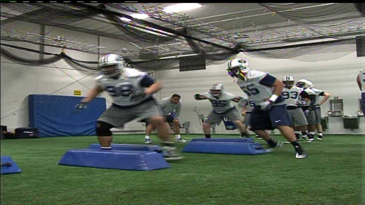 BYU football team begins spring practice