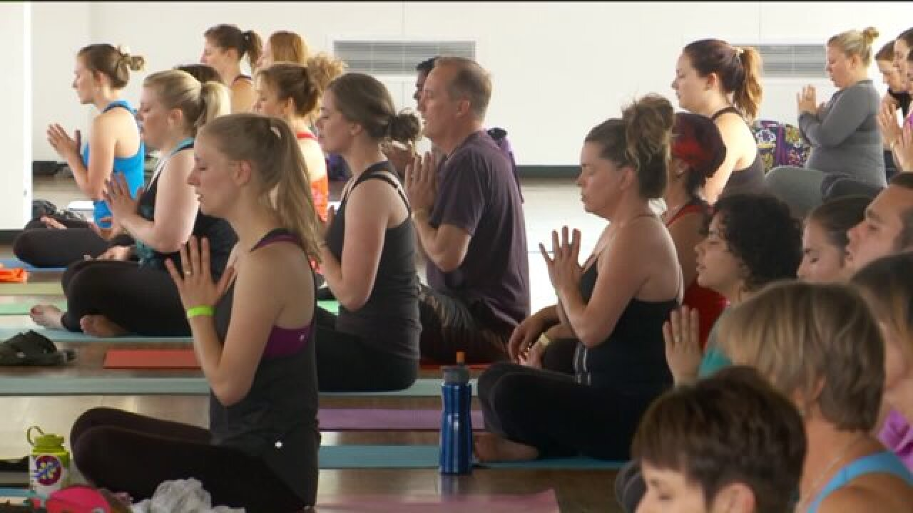Yoga festival in downtown Salt Lake City kicks off its first year
