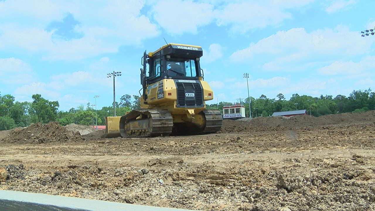 Leon High School's Athletic Field is getting a face-lift