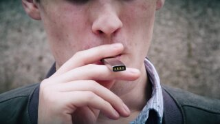 Vaping linked to higher risk of Covid-19 in teens, young adults