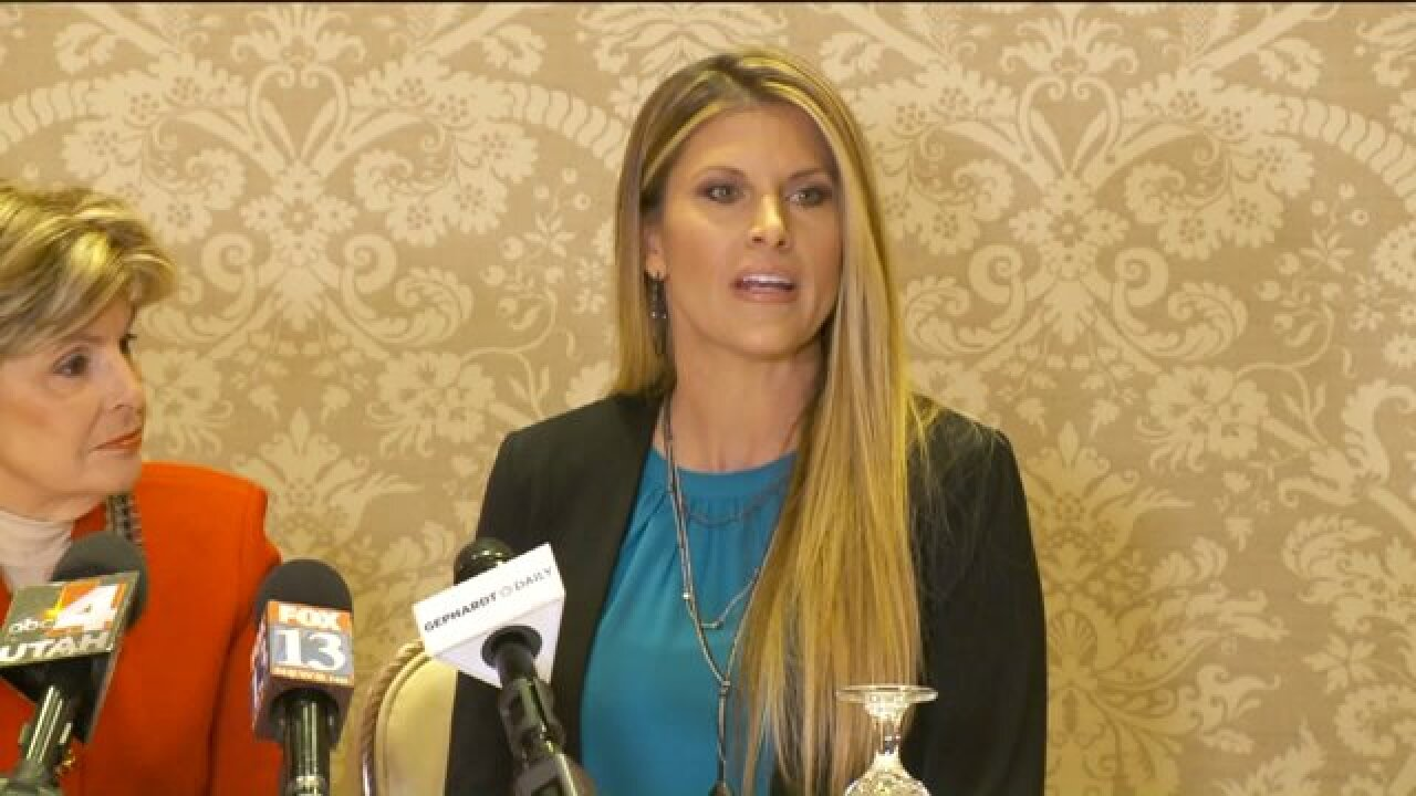 Former Miss Utah USA Temple Taggart speaks out after Trump threatens to sueaccusers