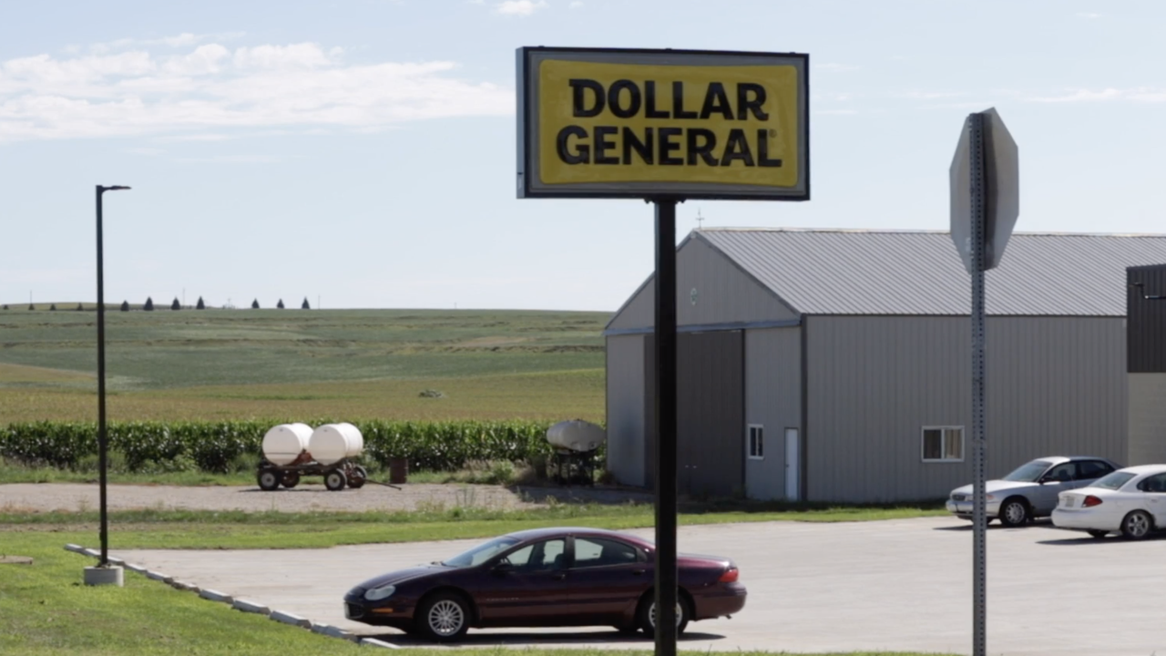 Dollar stores driving out local businesses in many small towns