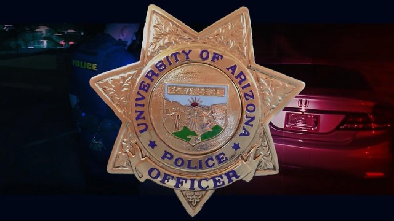 University Of Arizona Keating Building Map.Behind The Badge University Of Arizona S Police Department