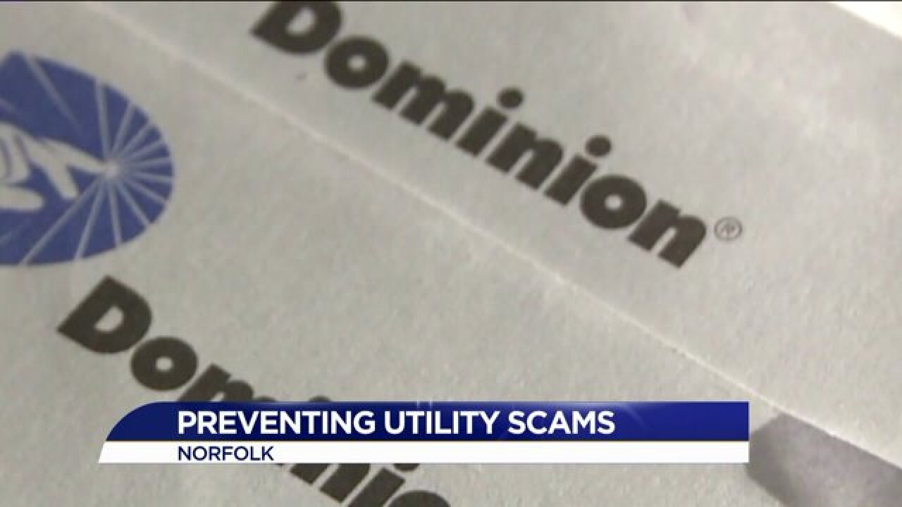 Dominion and others warns customers to be on the lookout for utility scams