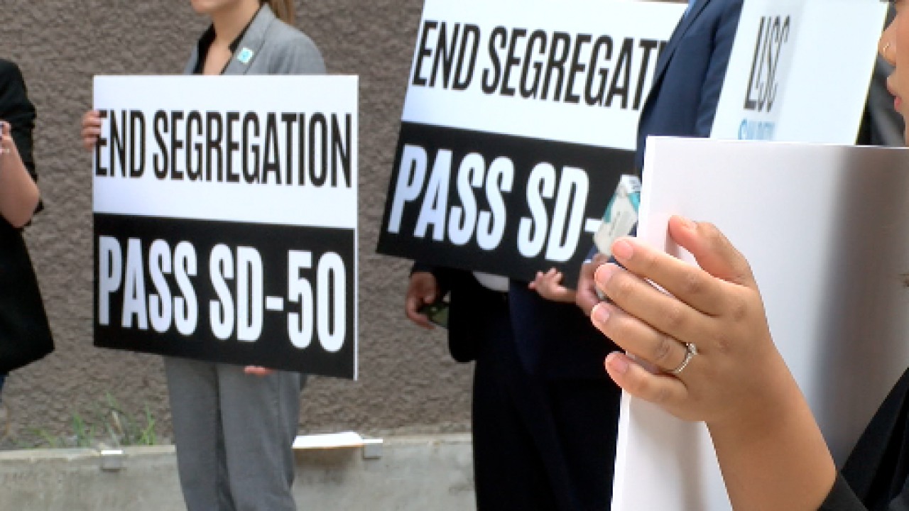 Local groups rally against housing segregation