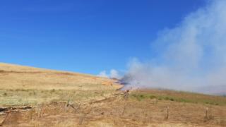 Firefighters complete prescribed burn north of San Luis Obispo