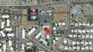 Someone was wounded in a Sierra Vista shooting Tuesday.