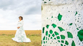These Brides Crocheted Their Own Wedding Dresses