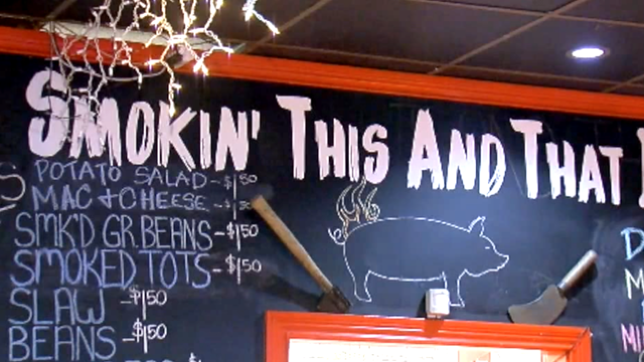BBQ joint has free meals for those fleeing storm