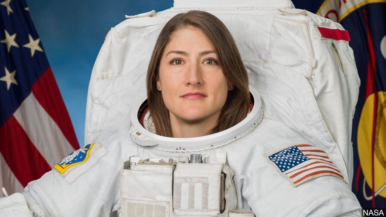 Christina Hammock Koch is a NASA astronaut of the class of 2013. She was previously the NOAA Station Chief for American Samoa.jpg