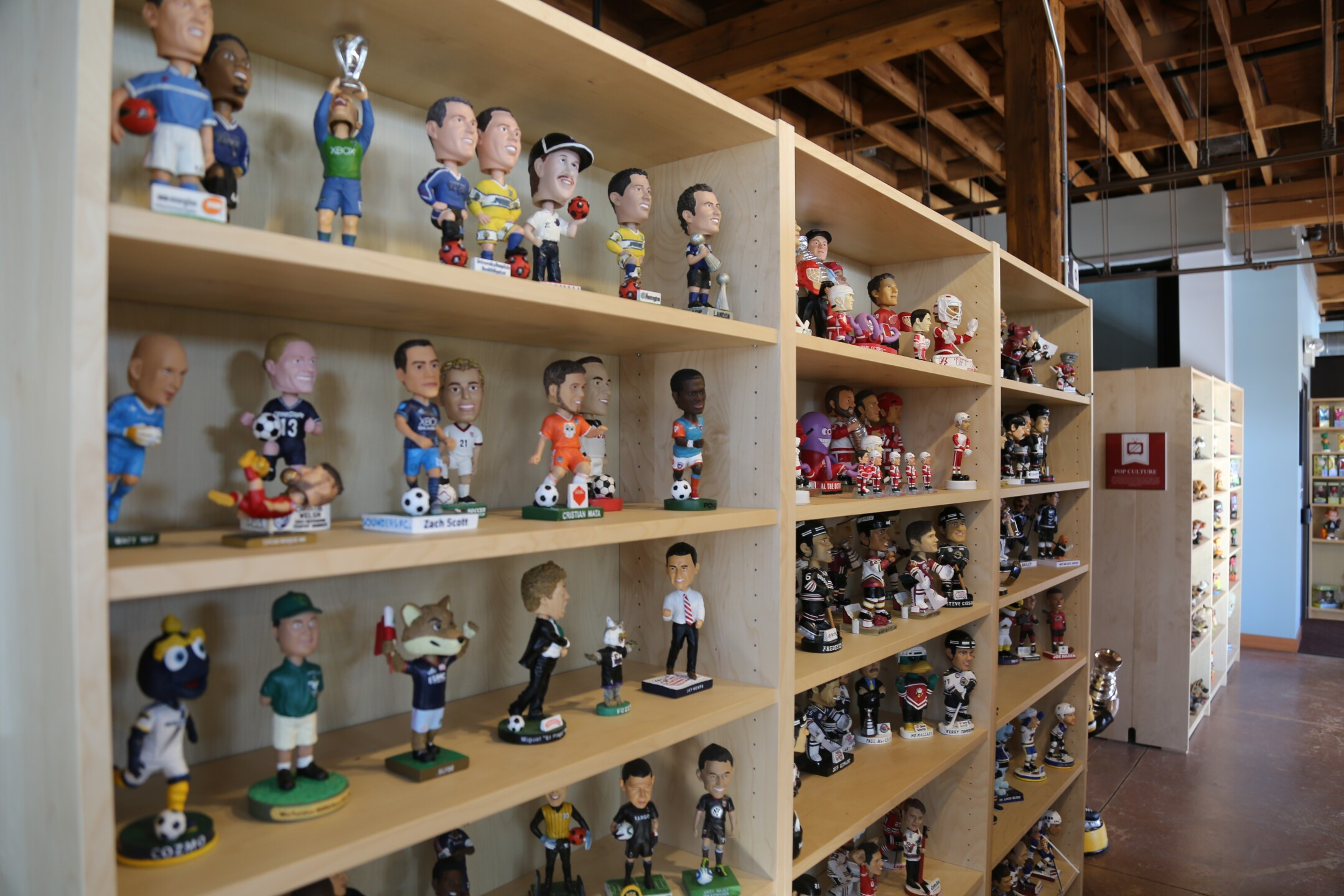 A tour of the National Bobblehead Hall of Fame and Museum