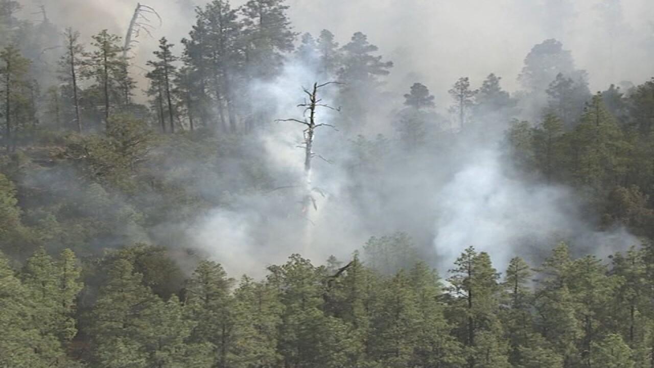Cedar Creek Fire growth slowed overnight