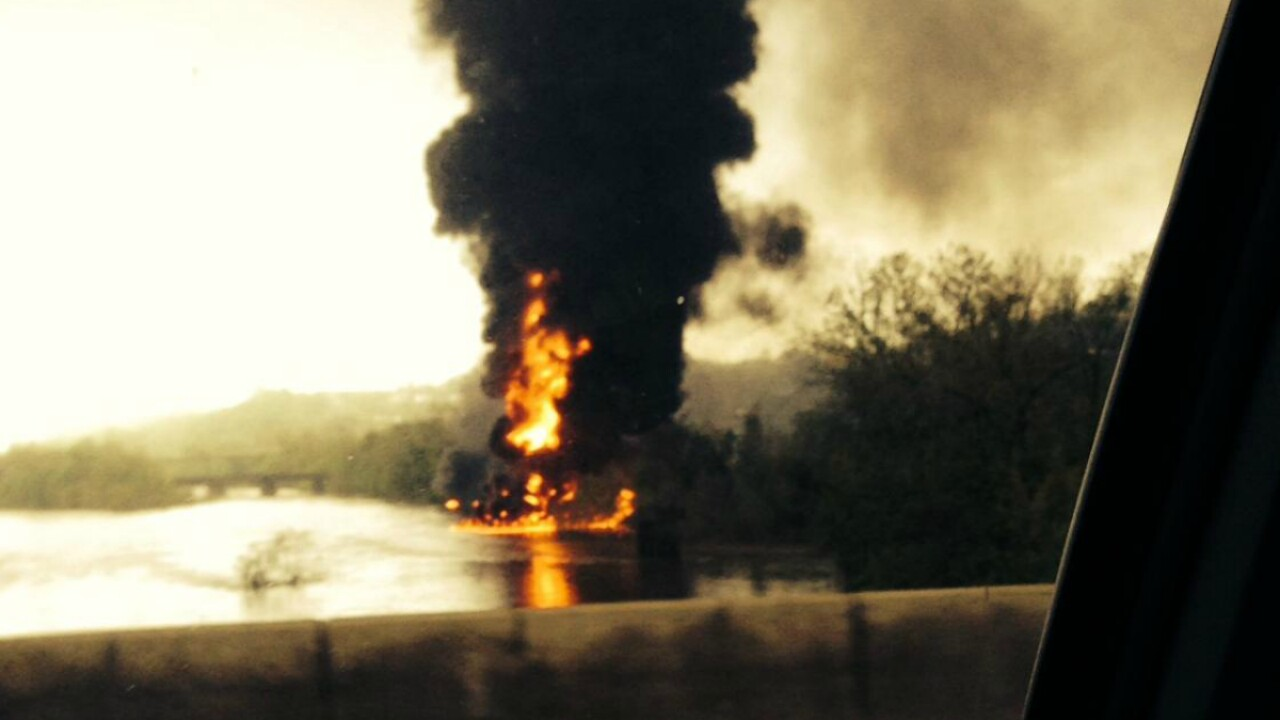 Lynchburg train derailment could affect local water supply