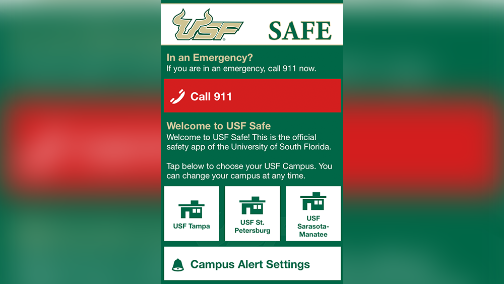 USF Police increases student safety with new app,'USF Safe' on